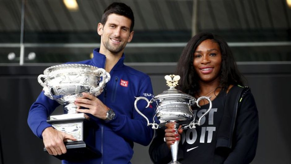 Novak Djokovic ve Serena Willams
