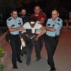 Edirne Keşan'da damattan bahşiş alamayan adam ortalığı birbirine kattı