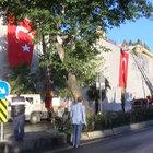 SALDIRININ İZLERİ BÖYLE KAPATILDI!