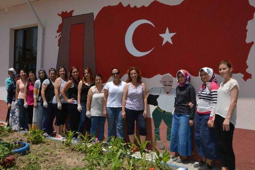 Muğla'da Şehit Mustafa Tayyar Temizel'iin isminin verildiği okula ...