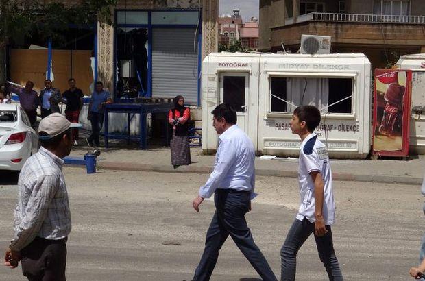 HDP'li Altan Tan'a Mardin Midyat'ta tepki