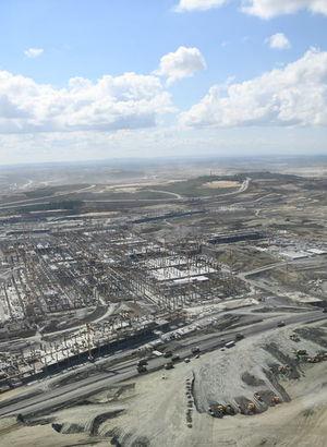 3. Havalimanı'nda 'Yakıt Çiftliği' projesi için düğmeye basıldı