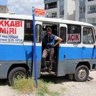 """Edirne'de kira fazla gelince minibüsünü """"mobil dükkan""""a çevirdi"""