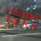 TEM otoyolu Tepeüstü mevkisinde araç yangını