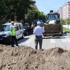 Samsun'da yol kapatmaya 412 lira para cezası