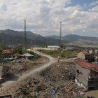 Yüksekova'da geçici güvenlik karakollarından ikisinin inşası bitti