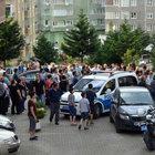 Trabzon'da 12'nci katta yangın paniği
