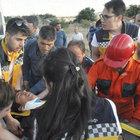 Kırıkkale'de işçi servisi ile otomobil çarpıştı