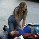 İstanbul Beyoğlu'nda korkutan kaza!