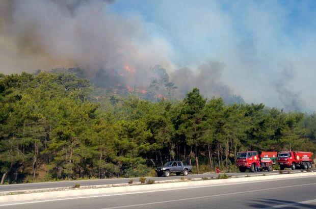 Antalya'da art arda ikinci yangın