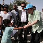BM Genel Sekreteri Yunanistan'da sığınmacıları ziyaret etti