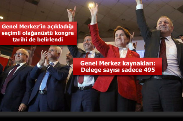 MHP'de delege sayısı muamması! Tüzük değişikliğinde önergeler kabul edildi