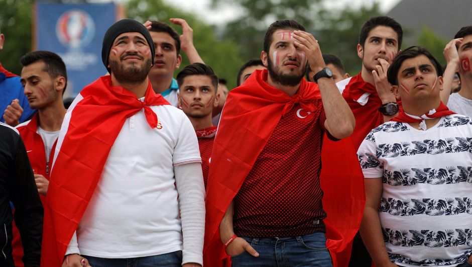 EURO 2016 Türk kökenli taraftarlar