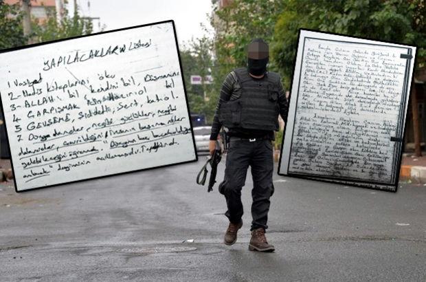 Diyarbakır'daki hücre evinde IŞİD'in vasiyetleri çıktı
