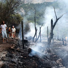 Muğla'da kamp alanında büyük yangın