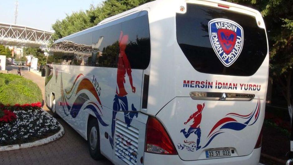 Mersin İdman Yurdu otobüsü