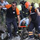 Karabük'te çaya düşen adamı itfaiye ve AFAD ekipleri kurtardı