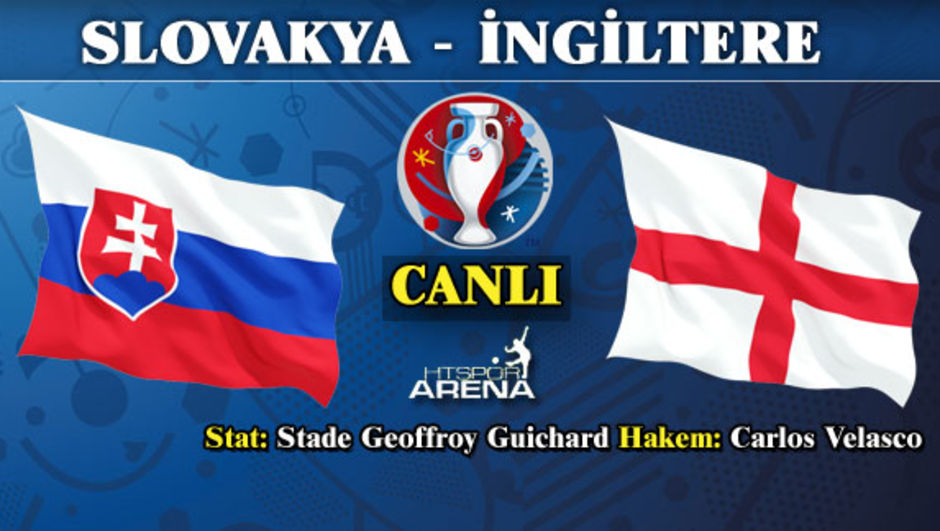 Slovakya - İngiltere maç özeti