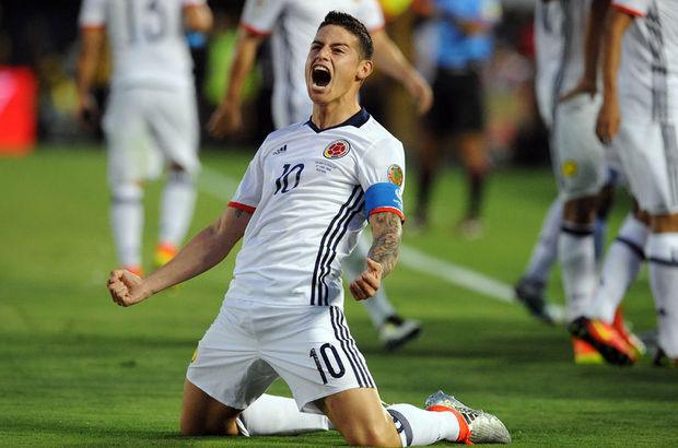 Kolombiya'nın Real Madridli yıldızı James Rodriguez'e kadın spikerden taciz