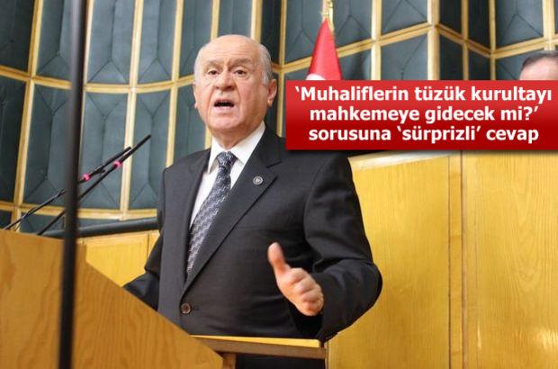 MHP Genel Başkanı Bahçeli'den kurultay tepkisi: Kendileri çalıp kendileri oynadılar!