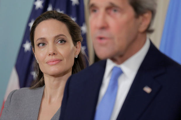 John Kerry, Angelina Jolie