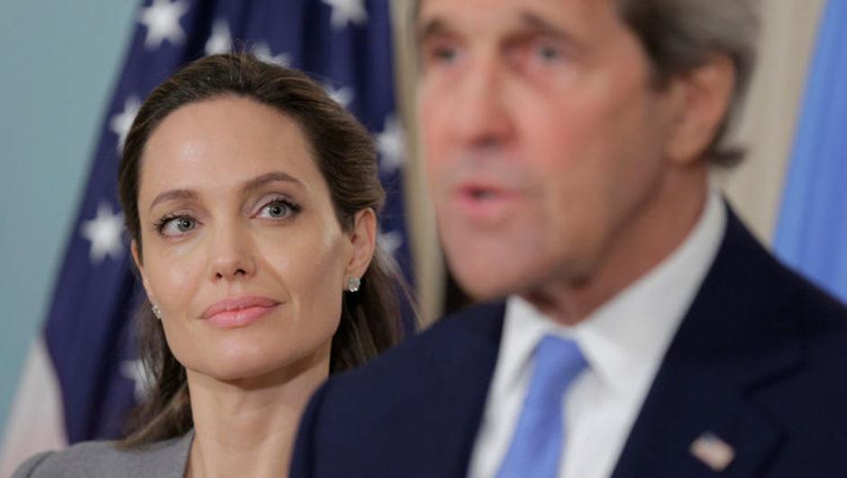 John Kerry, Angelina Jolie