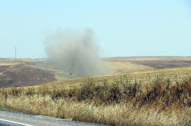 Diyarbakır'da PKK'nın yola tuzakladığı patlayıcı imha edildi