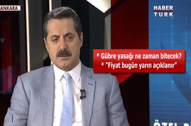 Tarım Bakanı Faruk Çelik