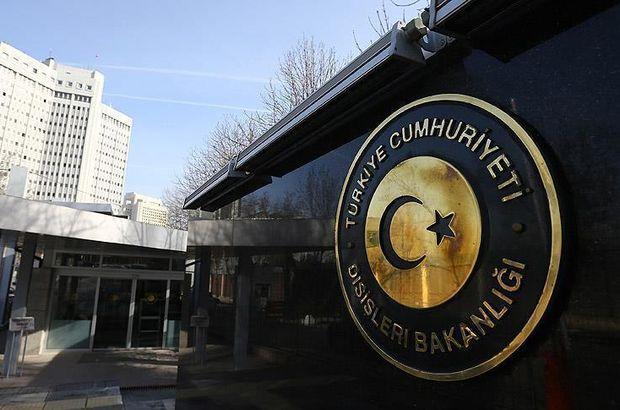 Dışişleri Bakanlığı'ndan Rusya açıklaması