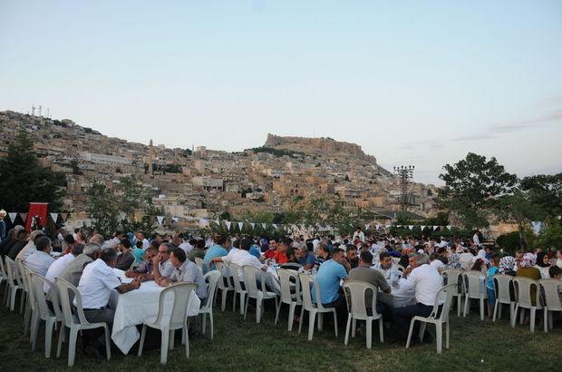 CHP'li ve DBP'li kardeş belediyelerden iftar