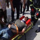 İzmit'te işçi minareden caminin üstüne düştü