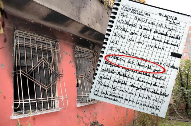 Diyarbakır'da öldürülen IŞİD'çilere ait mektuplar ortaya çıktı