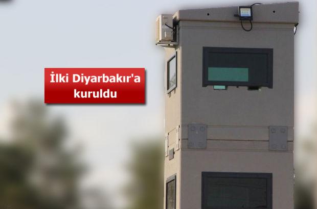 Diyarbakır'da zırhlı kule projesi başladı | Zırlı Kule nedir?