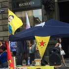 Viyana'da PKK standı açıldı