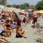Balıkesir Büyükşehir zabıta timlerinin plaj mesaisi