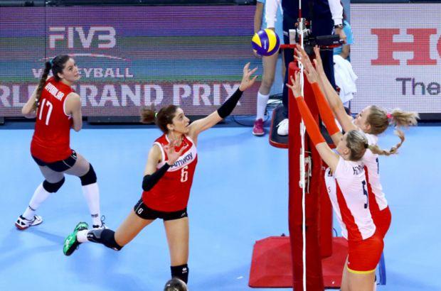 FIVB World Grand Prix 2016 ilk maçında Türkiye, Belçika'ya 3-1 yenildi
