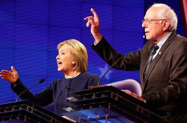Sanders, başkanlık seçimlerinde rakibi Clinton'a oy verecek