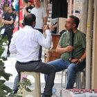 Manisa'da sokak ortasında intihar etmek istedi