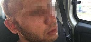 Öldürdüğü baldızının taziye çadırına giden şüpheliyi linçten polis kurtardı