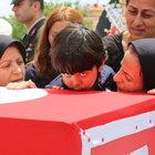 Şehit Emre Erkoç ve Mustafa Ayna Çorum'da toprağa verildi