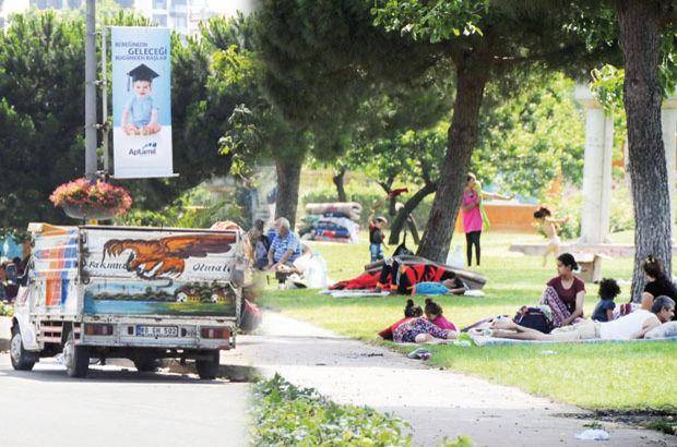 Suriyelilerin Suadiye kampı