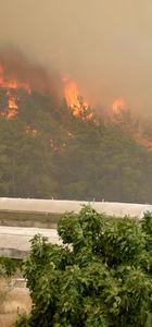 Kumluca'daki yangın kontrol altına alındı, Adrasan'da başladı