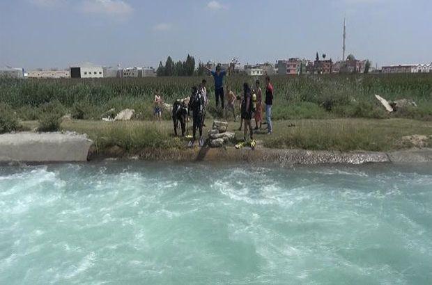Sulama kanalına düşen çocuktan acı haber
