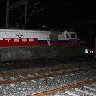 İZBAN vagonuna lokomotif çarptı