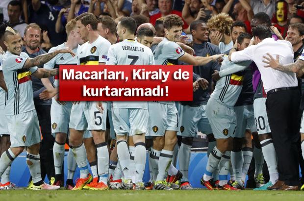Macaristan: 0 - Belçika: 4 | MAÇ SONUCU