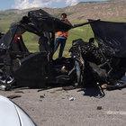 Sivas'ta TIR ile otomobil çarpıştı: 2 ölü