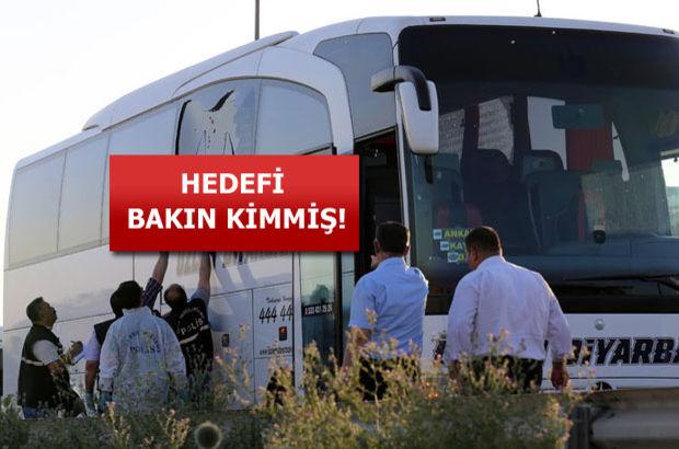Ankara'da 3 otobüse ateş açan saldırgan tutuklandı!
