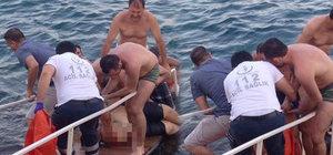 Mersin'de yatın pervanesinin çarptığı kişi öldü