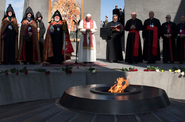 Dışişleri Bakanlığı'ndan Papa Francesco açıklaması