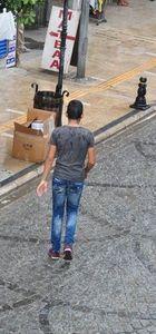 Milas'ta aniden bastıran sağanak vatandaşları sevindirdi